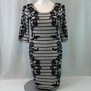 Derek Heart Form Fitting Dress
